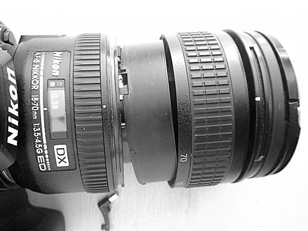 Clinique pour objectif Nikon 18_70